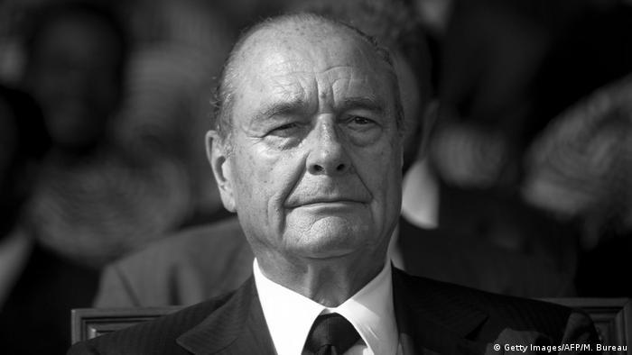 Jacques Chirac Ehemaliger Präsident Frankreich (Getty Images/AFP/M. Bureau)
