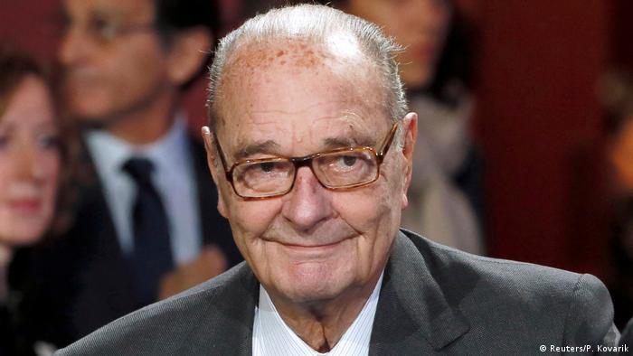 Jacques Chirac (Reuters/P. Kovarik)