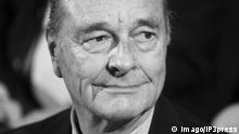 Jacques Chirac Ehemaliger Präsident Frankreich