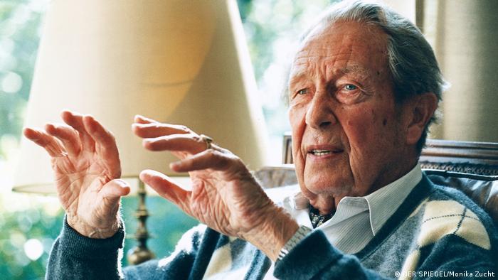 Były starosta Kołomyi Claus Volkmann zrobił karierę w powojennych Niemczech jako lewicowy dziennikarz Peter Grubbe