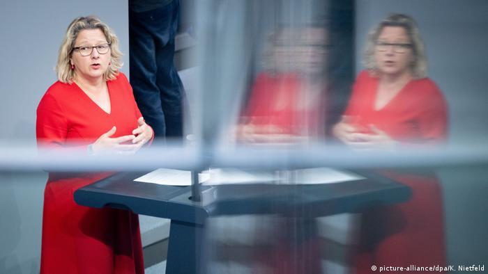 Bundestag Svenja Schulze Klimaschutz 2030