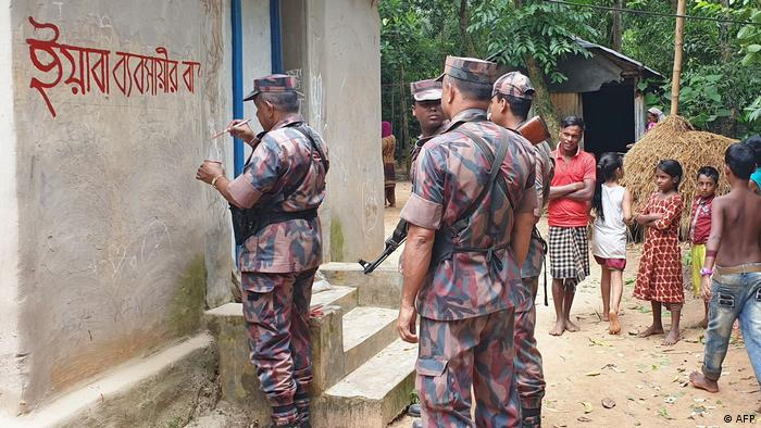 Kampagne gegen Drogen Bangladesch