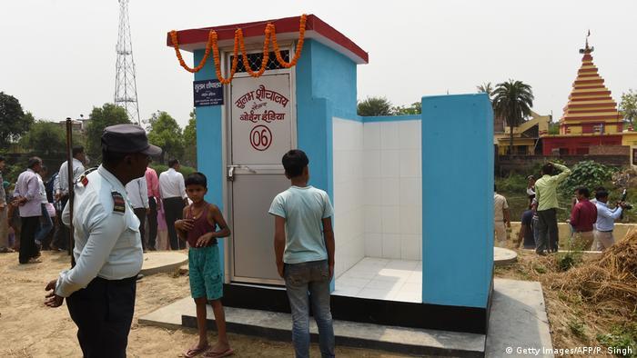 Indien | Öffentliche Toilette in Bihar