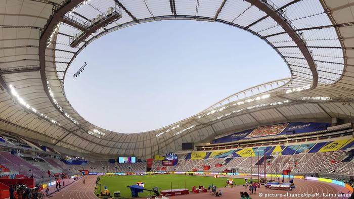 Katar Khalifa International Stadium in Doha