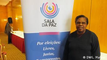 Mosambik Dialogplattform Sala da Paz Felicidade Chirindja