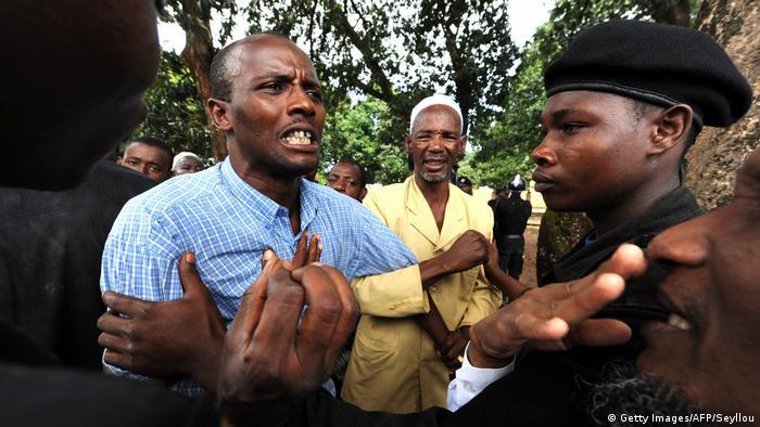 Guinea Beisetzung Opfer Conakry Massaker 2009