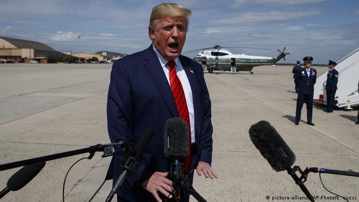 Дональд Трамп назвав майже шпигунськими дії інформатора та співробітників Білого дому, які йому допомогли