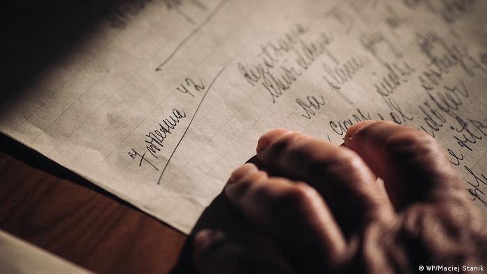 Aptekarz Marceli pisał pamiętnik, nawet w ukryciu, w ciemnościach