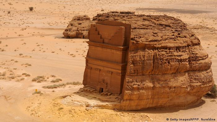 Saudi-Arabien Ausgrabungsstätte Mada'in Salih (Getty Images/AFP/F. Nureldine)