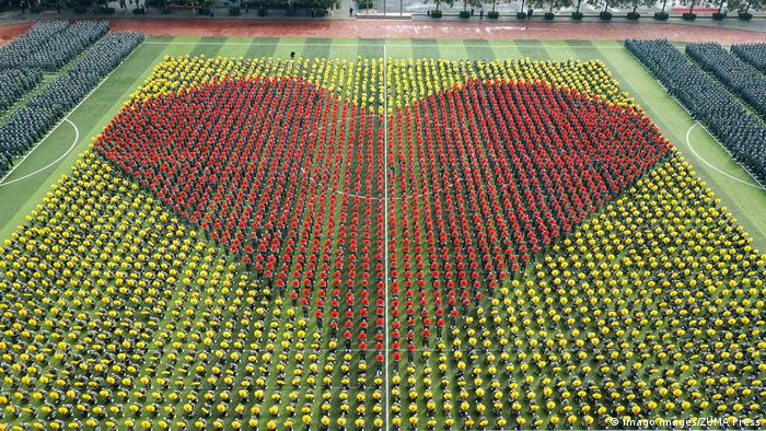 BdtD China Zhengzhou Universität Choreographie 70 Jahre VR China