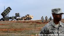 Türkei US Soldaten Patriot Flugabwehrsystem