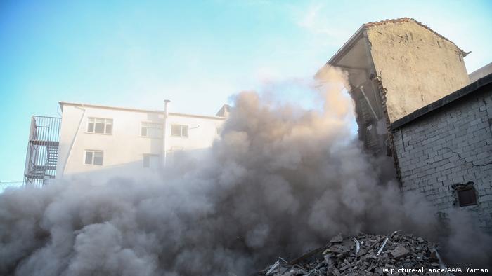 26 Eylül 2019 İstanbul Depremi'nden sonra yıkılan binalar