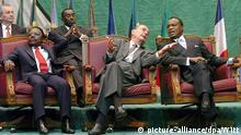 Jacques Chirac Treffen zum Schutz des Kongo-Regenwalds 2005