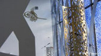 Džamija u Penzbergu - moderna arhitektura, jasne linije, transparentnost