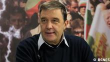 Bulgarien Ehemaliger Vizepremier Dimitar Ludjev