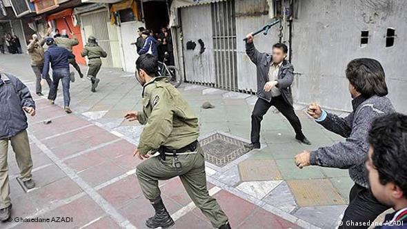 Flash-Galerie Proteste in Teheran 27.12.2009