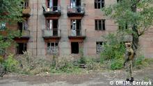 Fotoreportage Ost-Ukraine Stadt Solote