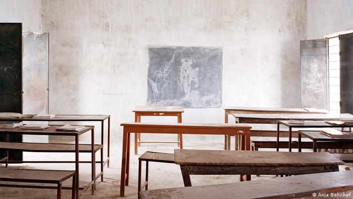A classroom in India (Anja Bohnhof)