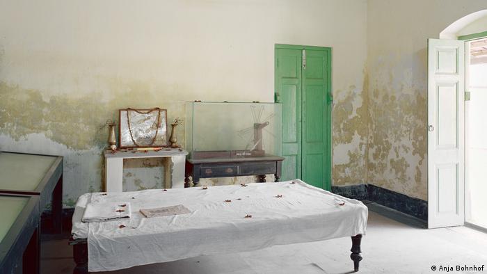 A room in an ashram in India (Anja Bohnhof)