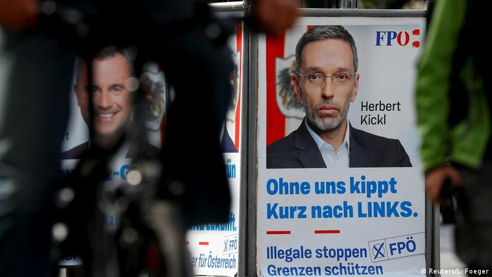 Österreich Wahlen Wahlkampf FPÖ Kickl