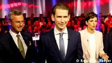 Österreich Wahlen Wahlkampf Zv Debatte