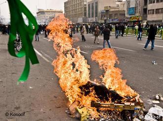 خیابانهای تهران، روز یکشنبه ۶ دی، ۲۷ دسامبر