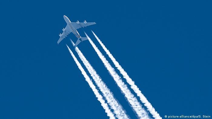 Symbolbild Luftfahrt Klimakurs