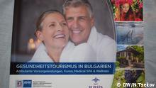 Sofia Bulgarien Broschüre