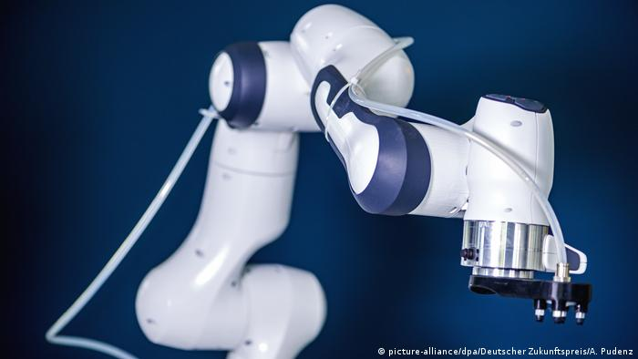 Deutscher Zukunftspreis Jedermann-Roboter