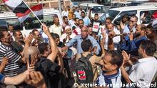 Ägypten Regierungsfreundliche Kundgebung