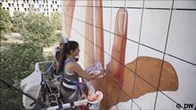 Titel: Häuserwände als Kunstwerke Copy: DW