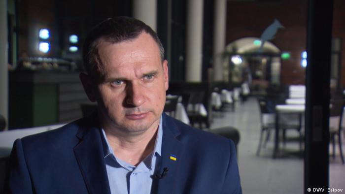 Freed filmmaker Oleg Sentsov: Ukraine, Russia conflict 'a clash of two worldviews'