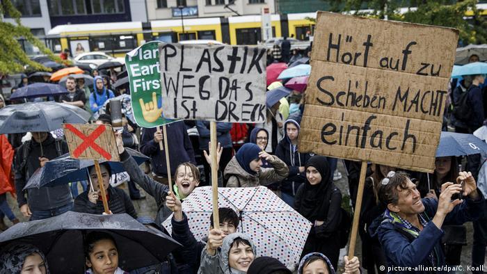Fridays For Future Klimastreik in Berlin