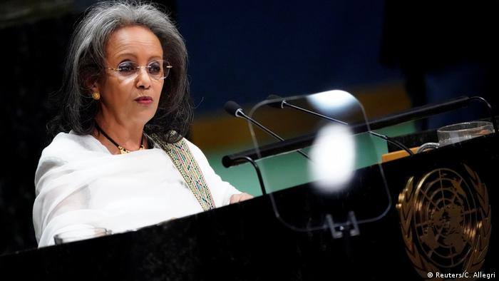 Sahle-Work Zewde (Reuters/C. Allegri)