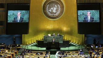 UN-Generalversammlung | Außenminister Chinas Wang Yi