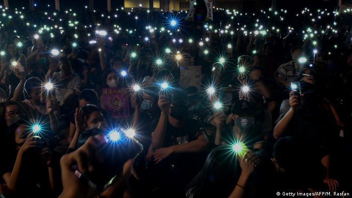 Hongkong Anti-Regierungs-Protestbewegung (Getty Images/AFP/M. Rasfan)