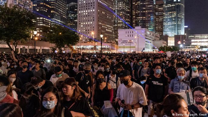 Hongkong Anti-Regierungs-Protestbewegung (Getty Images/A. Kwan)