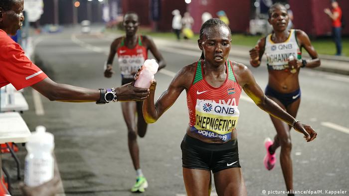 Leichtathletik-WM Doha 2019 | Ruth Chepngetich aus Kenia