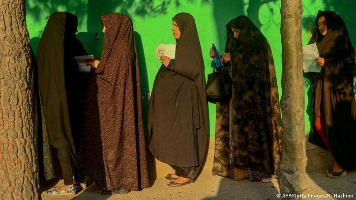 Präsidentschafts-Wahlen in Afghanistan (AFP/Getty Images/H. Hashimi)