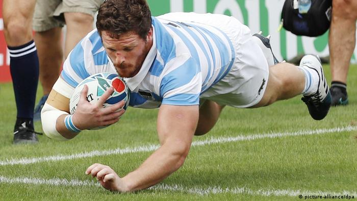 Rugby World Cup in Japan: Argentina v Tonga