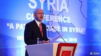 Председатель турецкой Народно-республиканской партии Кемаль Кылычдароглу