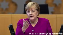 Thüringer Landtag Merkel-Rede zur Deutschen Einheit in Erfurt