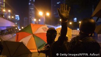 Hongkong Anti-Regierungs-Proteste (Getty Images/AFP/N. Asfouri)