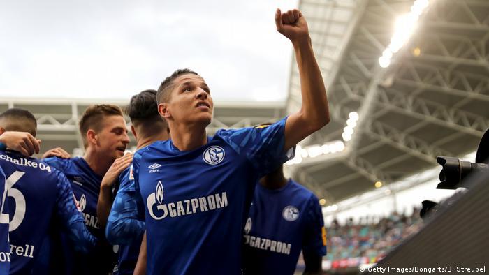 RB Leipzig 1 - 3 Schalke (Getty Images/Bongarts/B. Streubel)