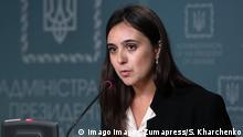 Julia Mendel Pressesprecherin des ukrainischen Präsidenten