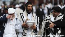 Ukraine jüdisches Neujahrsfest Rosch Haschana in Uman