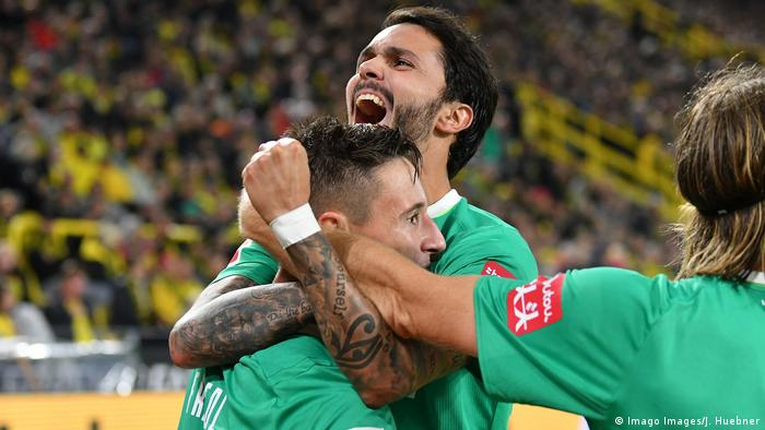 Dortmund Fallt In Der Tabelle Zuruck Sport Dw 28 09 2019