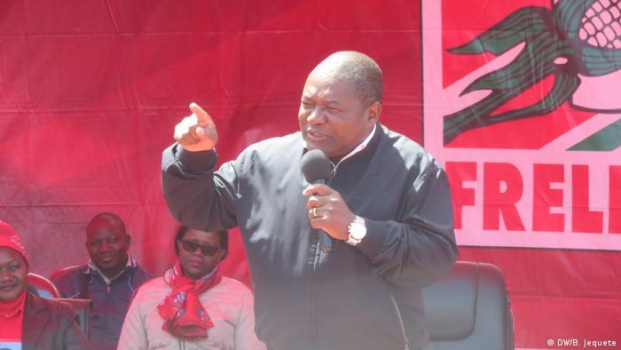 Mosambik Präsident Filipe Nyusi