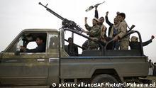 Jemen Kämpfer der Houthi-Rebellen