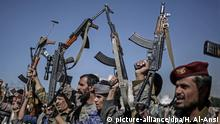 Jemen Sanaa Huthi-Rebellen